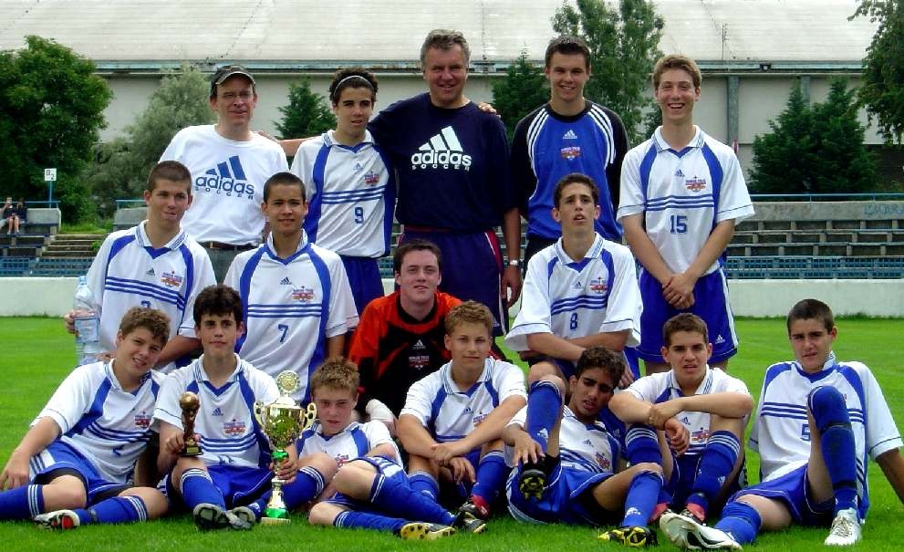 U-15 BOYS RETURN FROM SLOVAKIA WITH FIRST AND 2ND PLACE TROPHIES, TOURNAMENT MVP AND BEST GOAL SCORER AWARDS