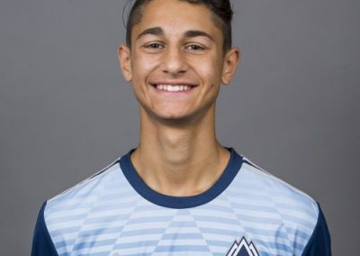 August 30, 2016 - Vancouver Whitecaps FC Boys RESx Program - Team Headshots